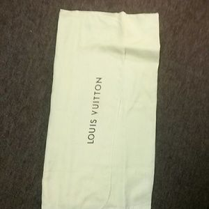 Louis Vuitton dusting bag